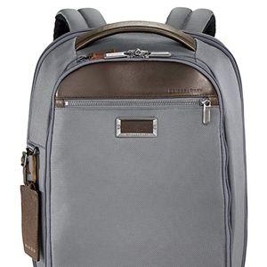 Grey Medium Slim Backpack